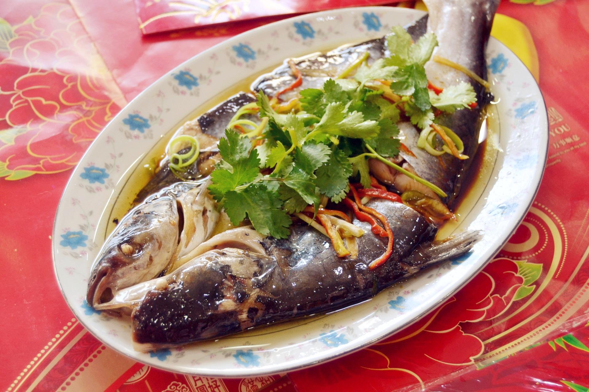 清蒸鱼#给老爸做道菜#的做法步骤