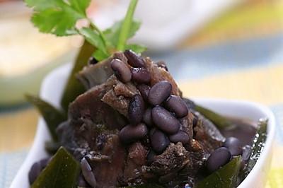 黑豆海带牛尾汤
