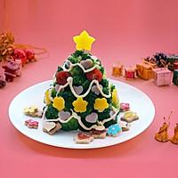 丘比果酱&沙拉酱-圣诞树沙拉