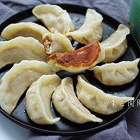 白鲨饺子粉试用之锅贴饺子#KitchenAid的美食故事#
