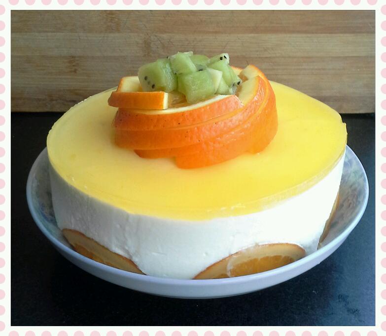 香橙慕斯的做法_香橙酸奶慕斯的做法