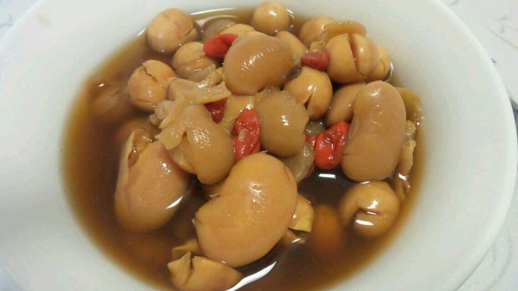 桂圆莲子枸杞扁豆甜汤的做法步骤