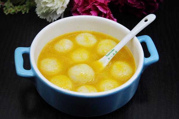 吃南瓜汤圆,热热闹闹过元宵节