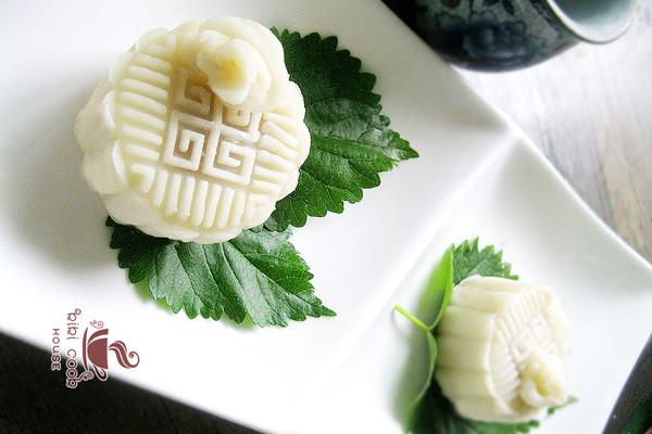 自做冰皮玫瑰月饼【原创】 - 云游老道  - 崂山隐士的茅庐