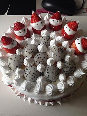 圣诞老人蛋糕的全部作品