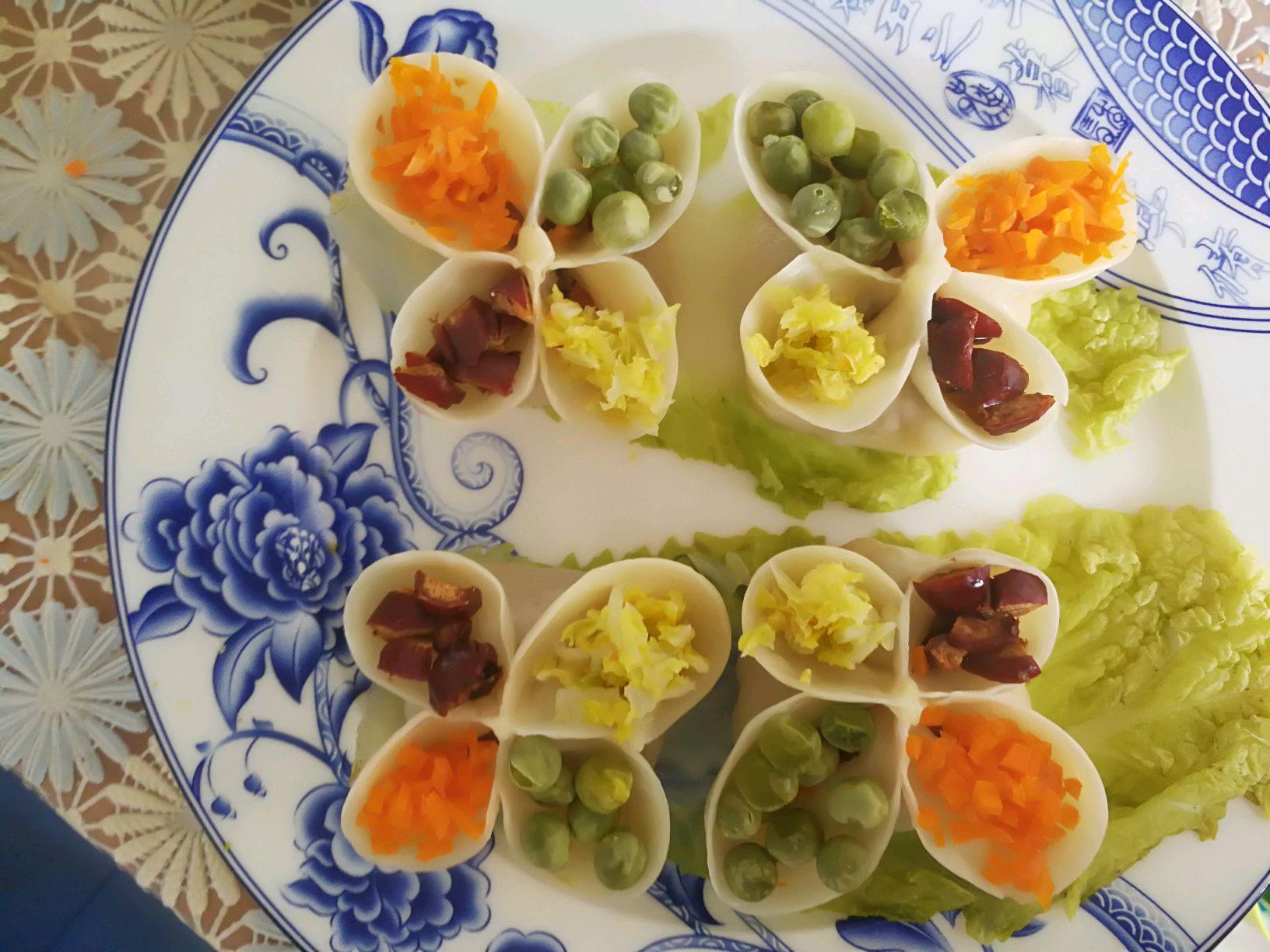 四喜饺子的做法_【图解】四喜饺子怎么做如何做好吃
