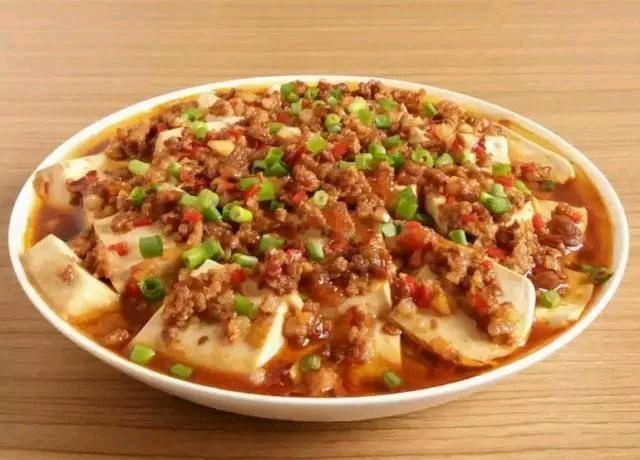 肉末豆腐+