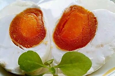 李孃孃爱厨房之一一自制咸鸭蛋