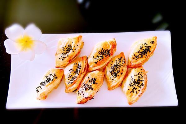 美味榴莲酥的做法