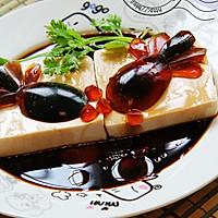 零厨艺请客冷盘【鱼戏】(京彩豆腐)