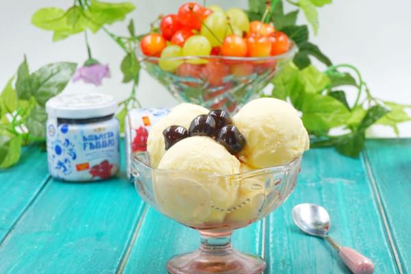 自制冰淇淋(无冰碴.熟蛋)的做法
