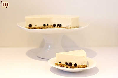 无烤箱珍珠奶茶芝士蛋糕