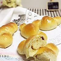 """蔓越莓奶酥卷卷小面包#享""""美""""味#"""