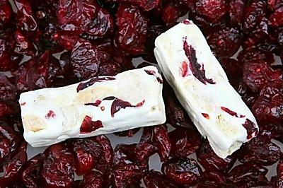 蔓越莓牛轧糖