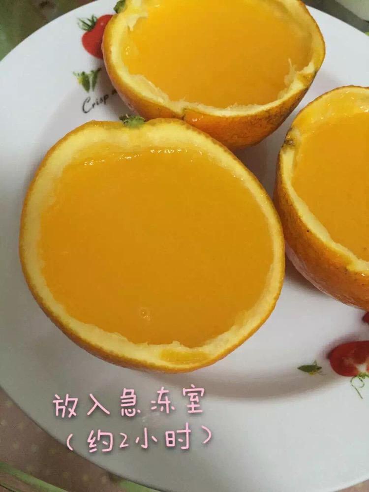 橙子制作小动物步骤