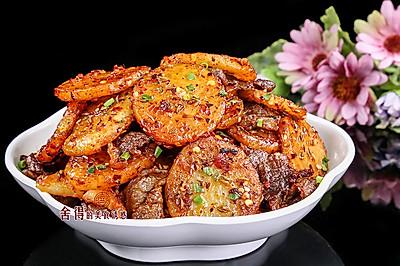 香馥馥的【孜然牛肉马铃薯片】