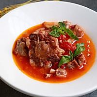 红酒西红柿牛尾汤的做法图解4