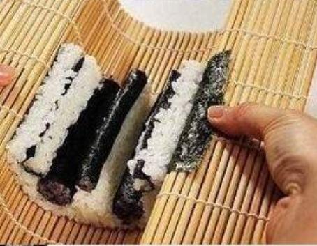 熊猫寿司的做法图解4