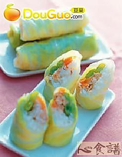 鲔鱼寿司菜卷的做法