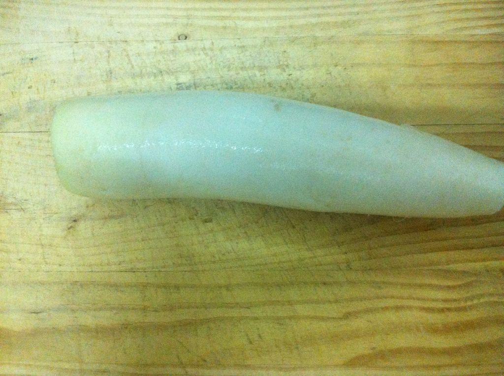 凉拌萝卜皮的做法步骤