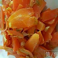 素炒胡萝卜