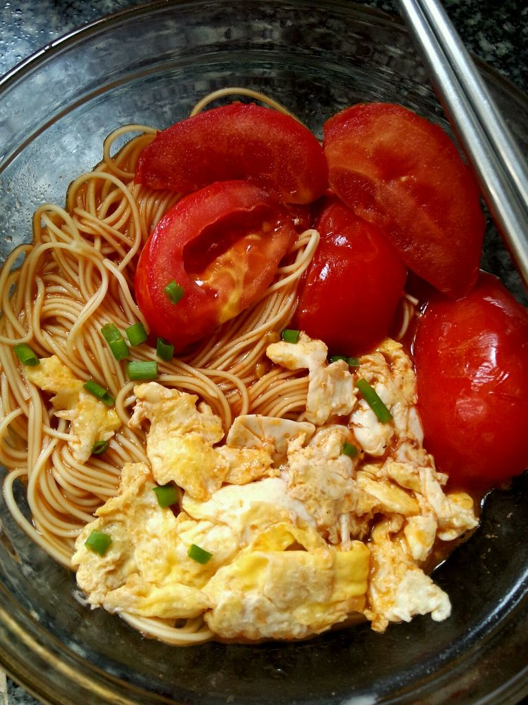 番茄鸡蛋面的做法_【图解】番茄鸡蛋面怎么做好吃