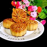 红豆沙蛋黄月饼
