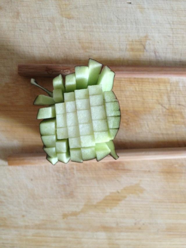 茄子钩针编织图解