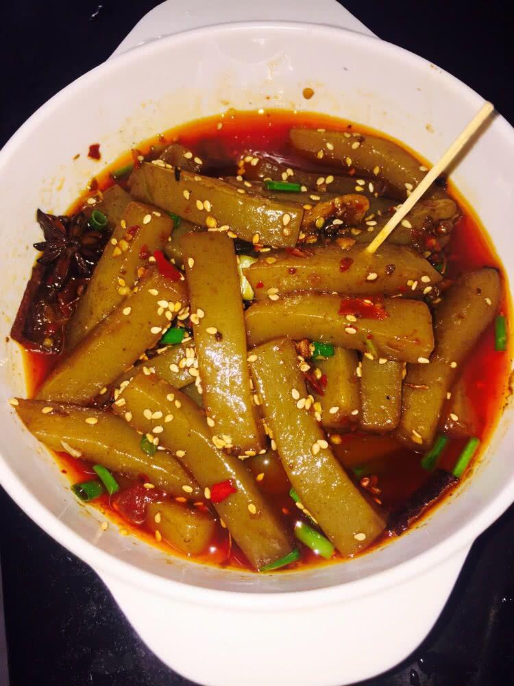 麻辣魔芋豆腐(怀化小吃)的做法_【图解】麻辣魔芋豆腐
