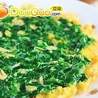 韭菜虾皮烀饼