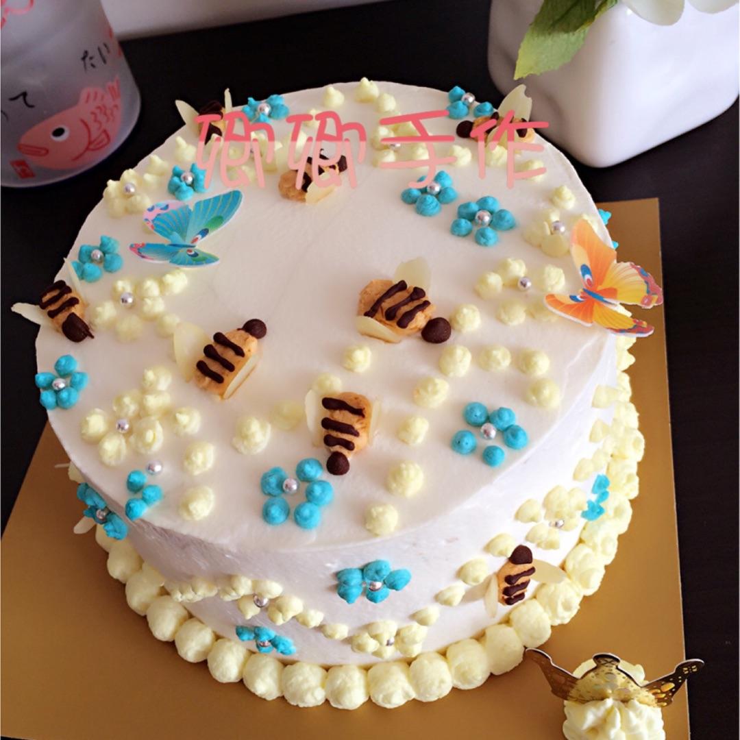 小蜜蜂蛋糕的做法_【图解】小蜜蜂蛋糕怎么做如何做