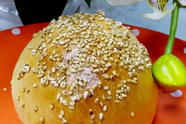 松软汉堡面包的做法_【图解】松软汉堡面包怎么做