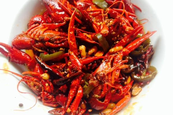酸辣小龙虾的做法_【图解】酸辣小龙虾怎么做好吃_8z