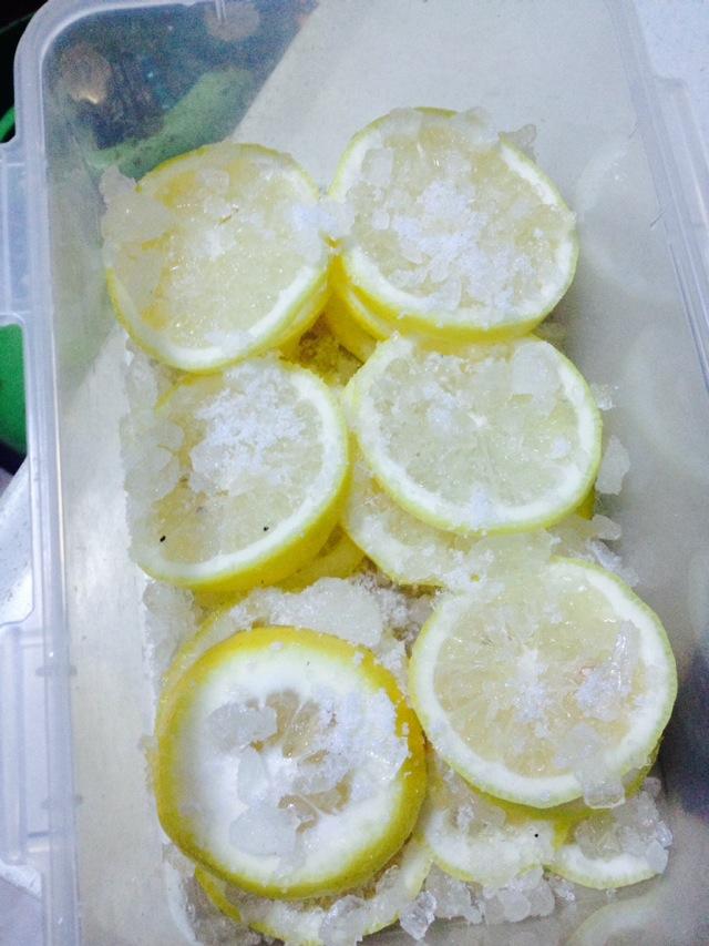 柠檬青桔茶的做法步骤 7.