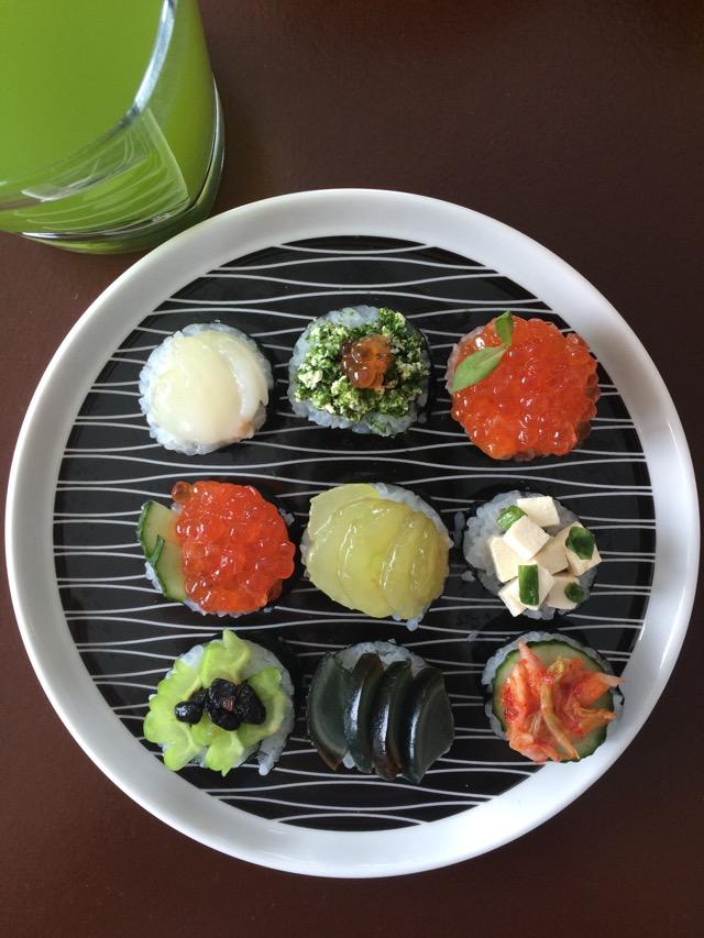 日韩混搭花样寿司的做法图解3