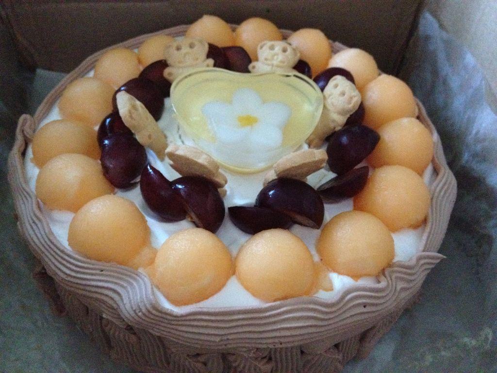 我为自己过生日,我为自己做蛋糕(教你如何抹平蛋糕