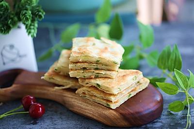 酥掉牙的半烫面葱花千层饼——绝对简单快速,易胜博开户:早晚餐都适合。