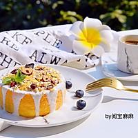 低脂低卡燕麦酸奶淋面蛋糕#单挑夏天#