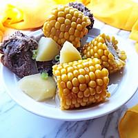 玉米羊肉汤
