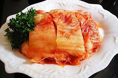 正宗韩国泡菜做法