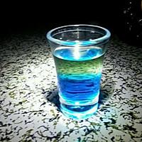 蓝色的海 鸡尾酒