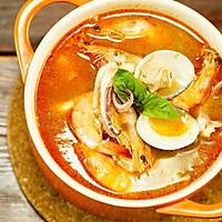 真材实料的海鲜冬阴功汤,不去泰国也能吃到!