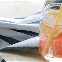 夏日冷饮——西瓜柠檬水
