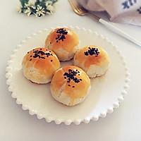 """蔓越莓豆沙蛋黄酥#享""""美""""味#"""