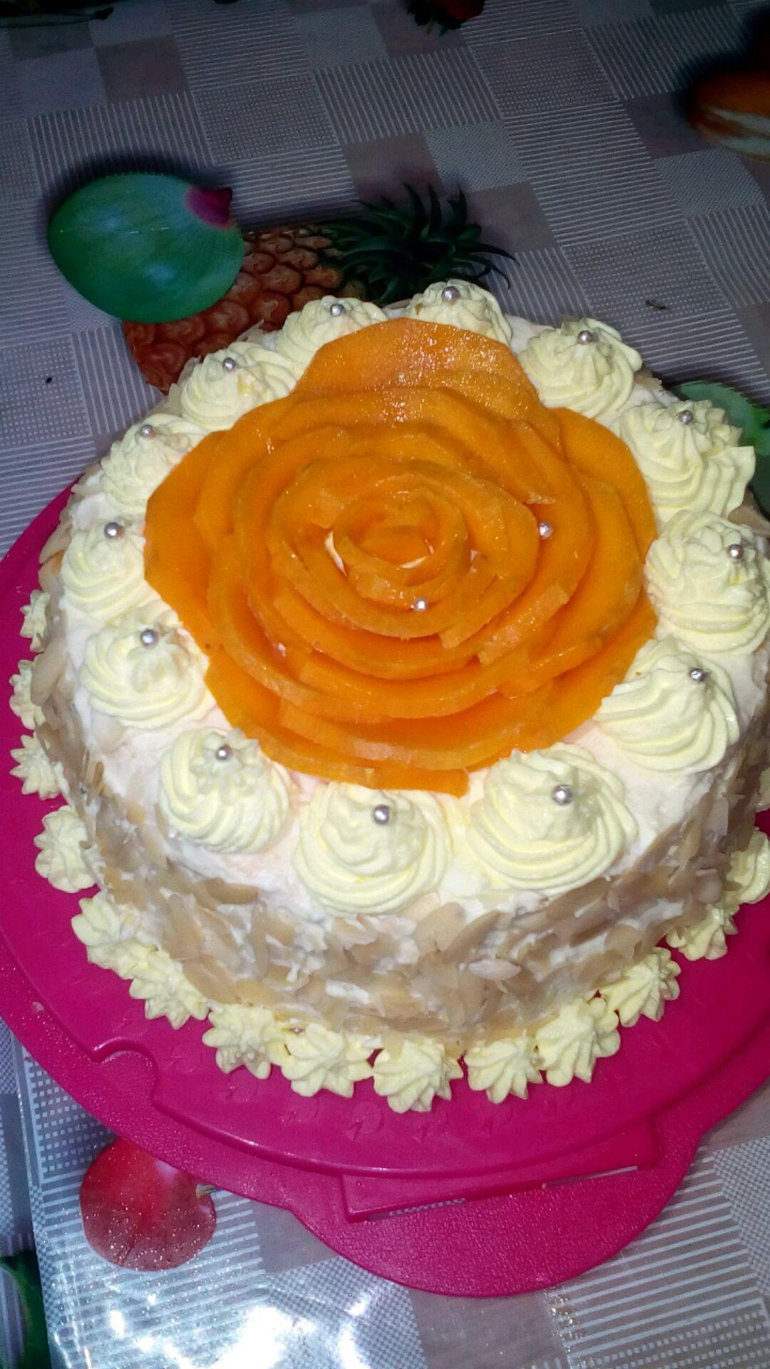 芒果生日蛋糕的做法图解2