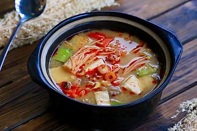 • 韩式大酱汤 •