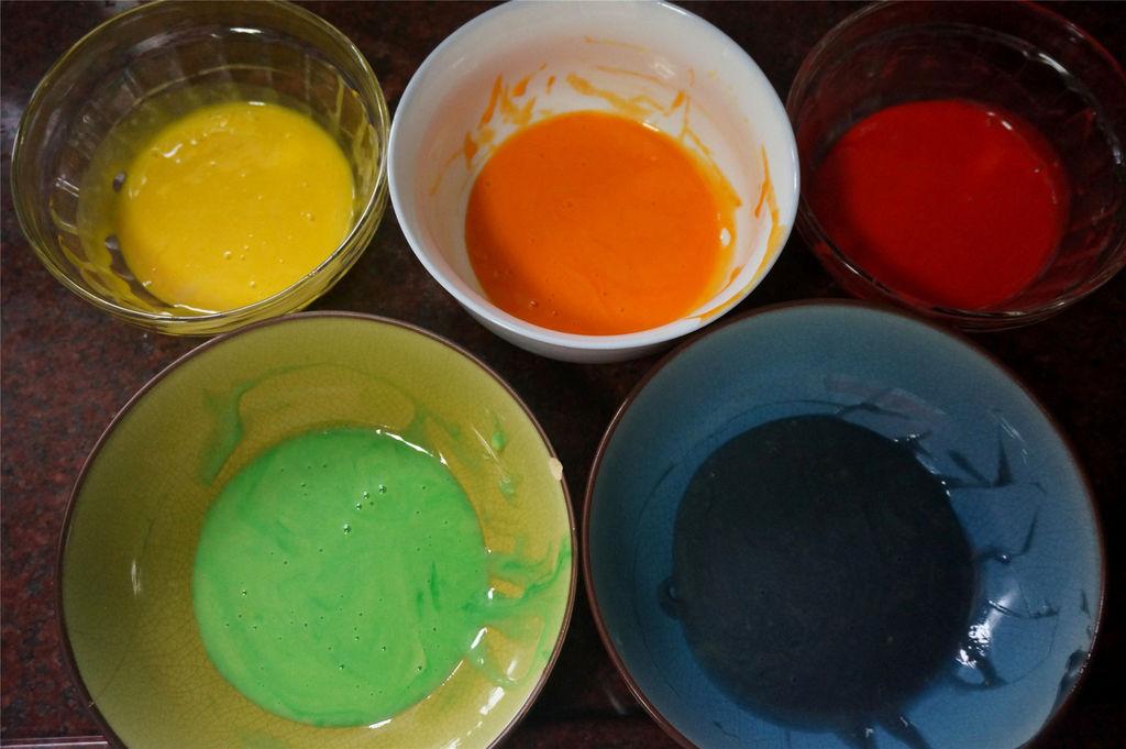色素-蛋糕分切11等分