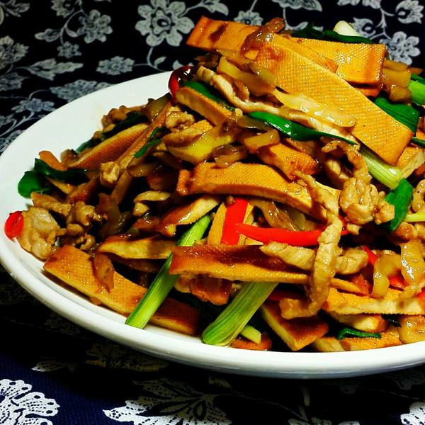 香干玉竹肉丝榨菜排骨汤v香干图片