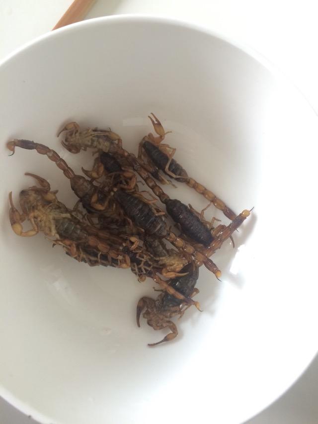油炸蝎子怎么烧