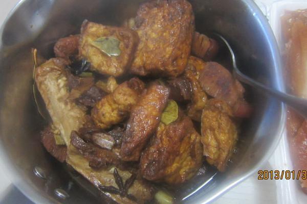 豆腐红烧肉的做法